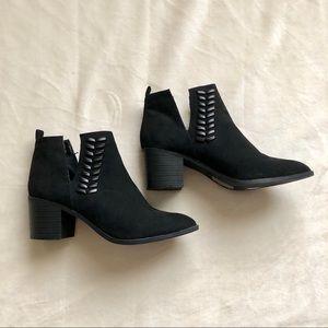 Qupid Black Booties